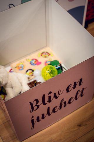 Tænk bæredygtigt og lad legetøjet cirkulere til andre børn.