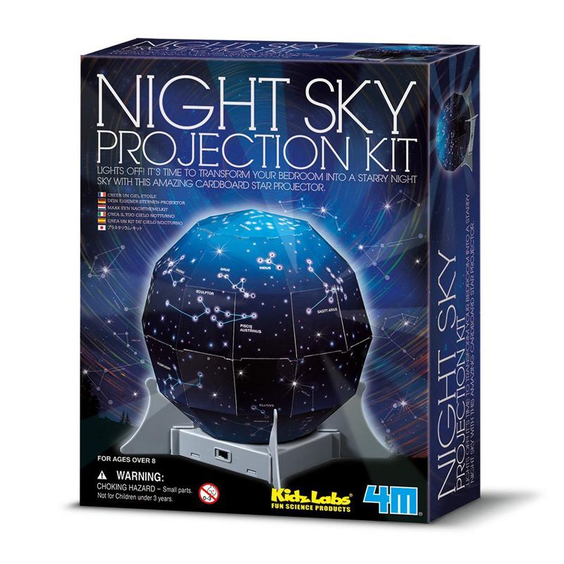 Image of   4M KidzLabs eksperiment legetøj, Skab en nattehimmel