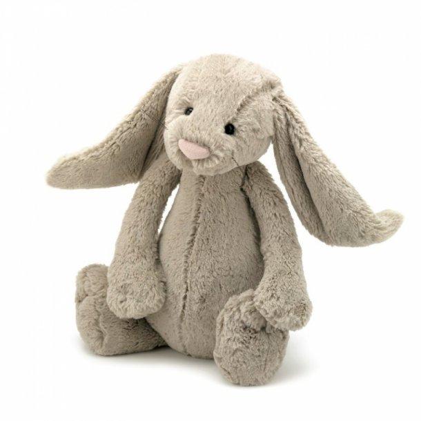 Jellycat bamse, Bashful kanin beige - 36 cm