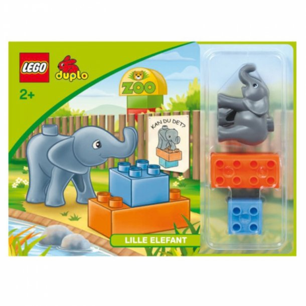 LEGO Duplo- kan du det lille elefant?