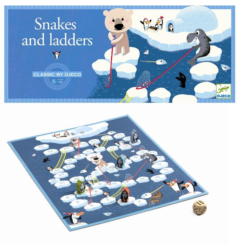 Djeco spil slanger og stiger