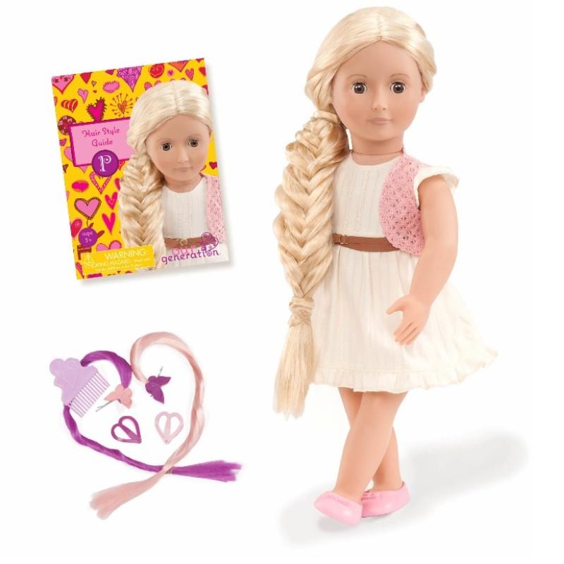 Image of   Our Generation dukke Phoebe med hår der kan vokse, 46 cm