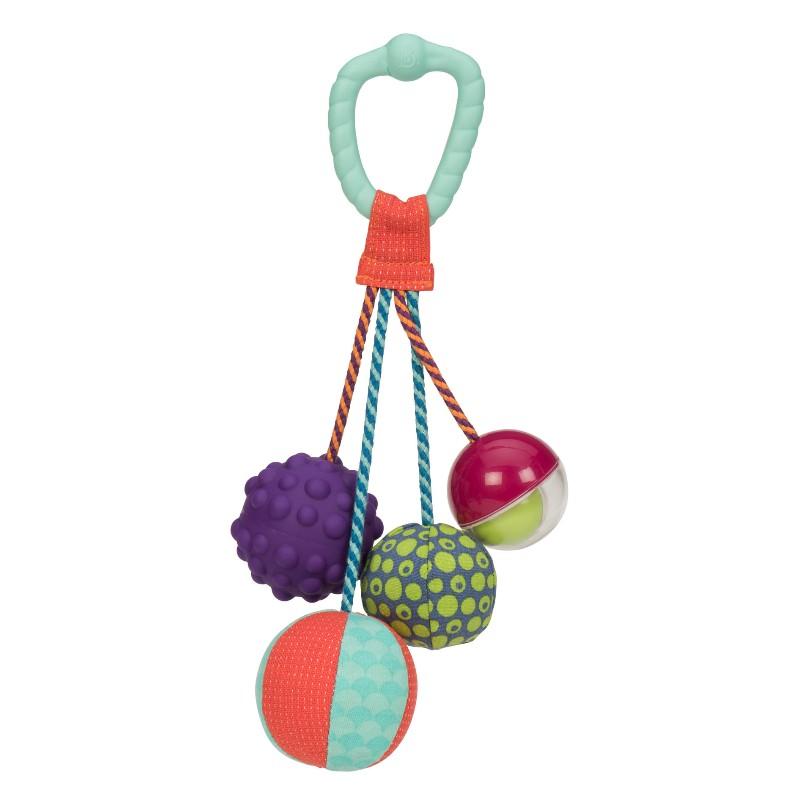 Image of B Toys aktivitetsrangle med bolde