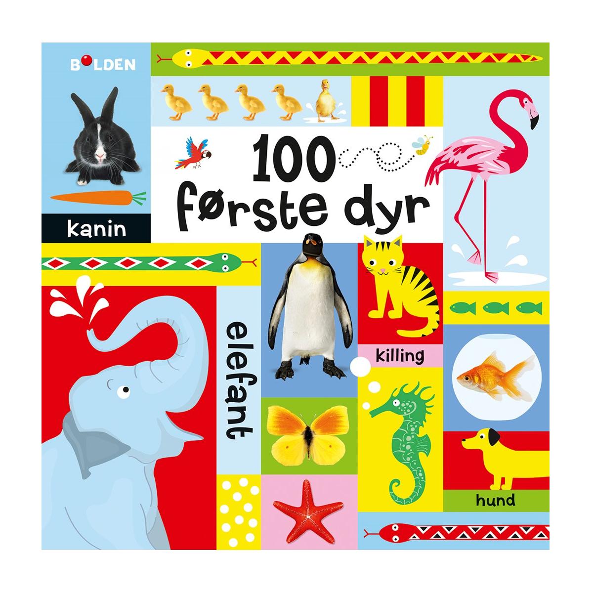 Image of   100 første dyr