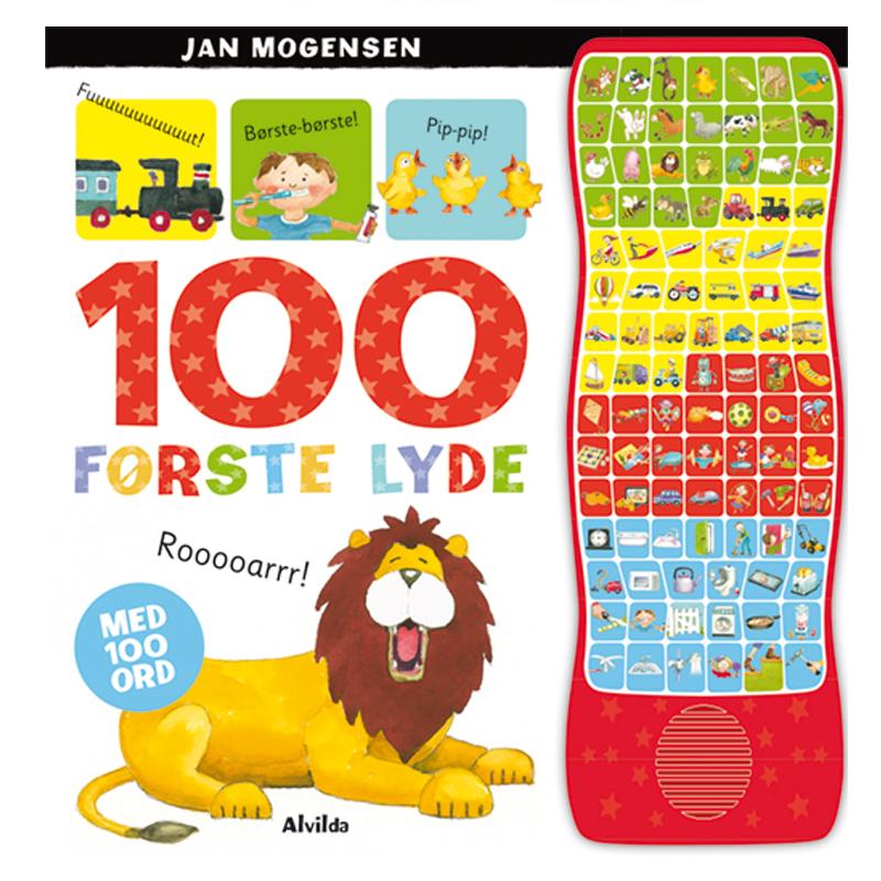 Image of   100 første lyde