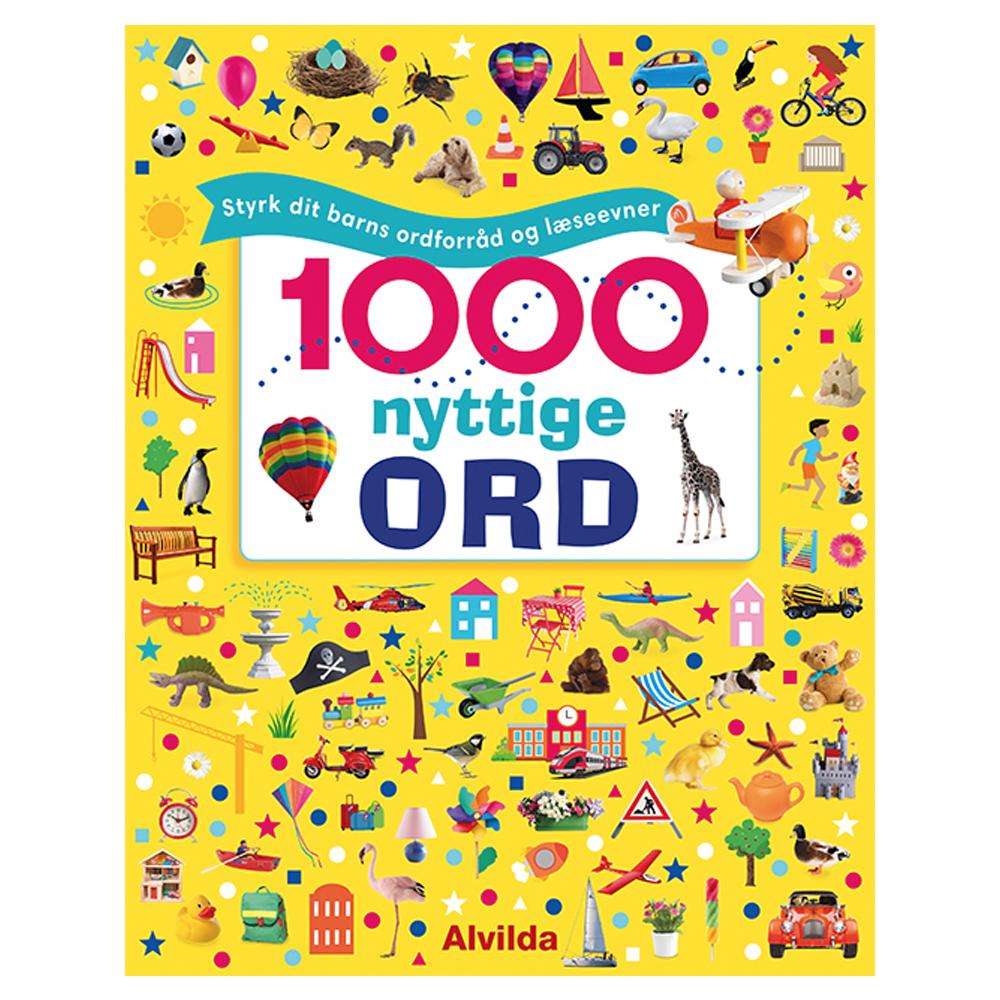 Image of   1000 nyttige ord - Styrk dit barns ordforråd og læseevner