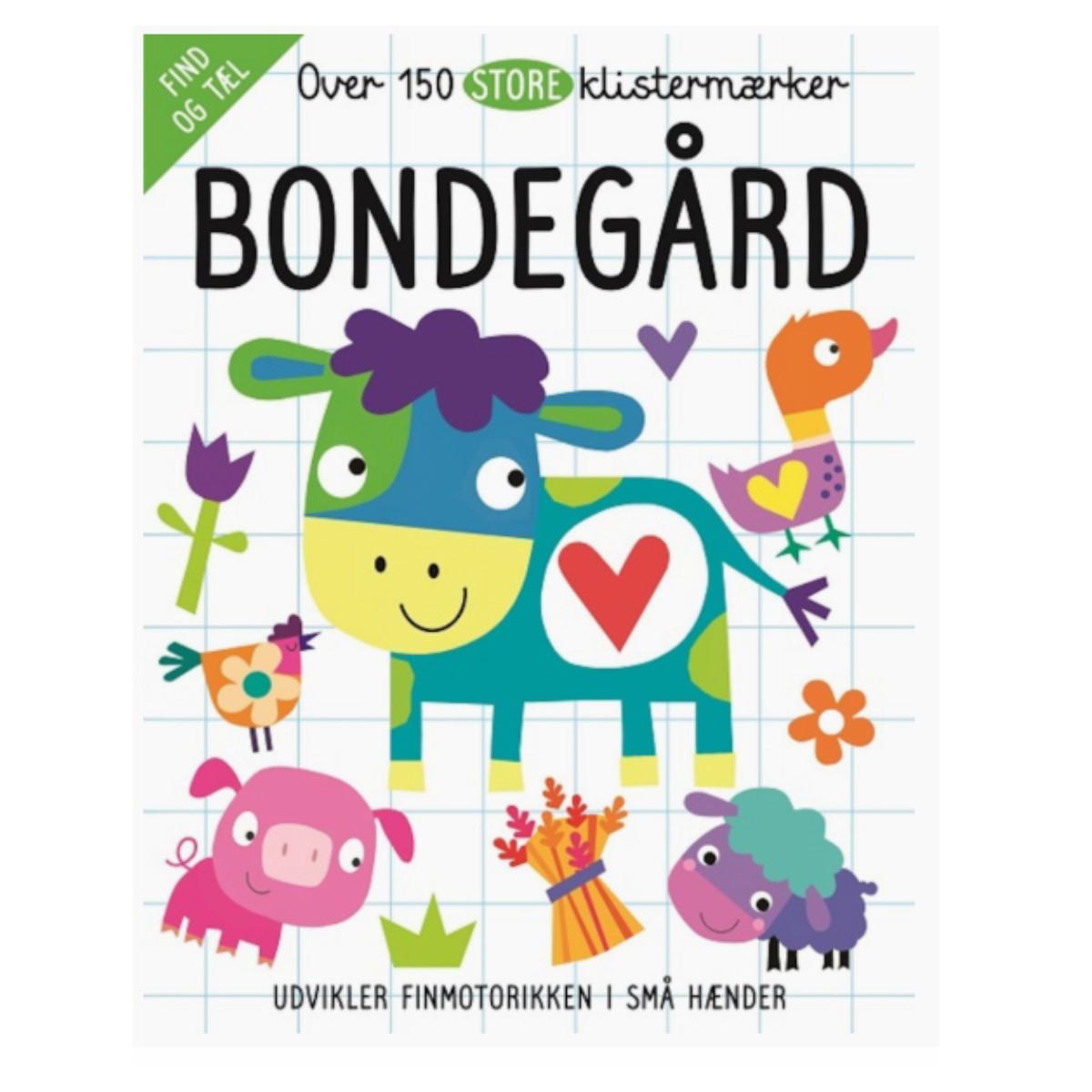 Image of 150 Klistermærker, Bondegård