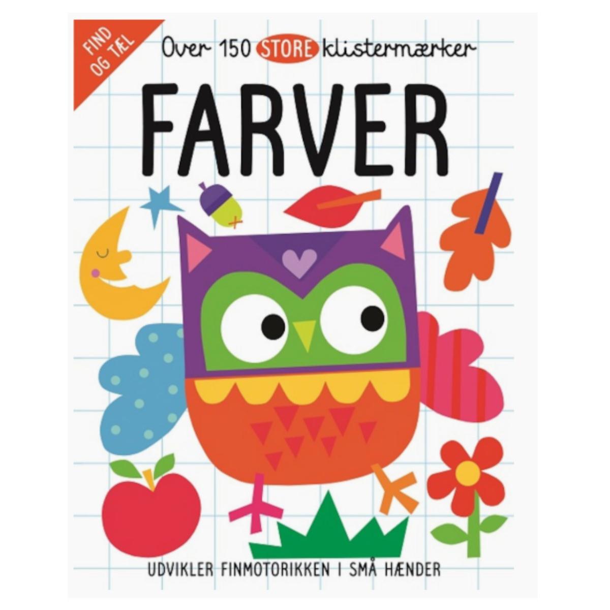 Image of 150 Klistermærker, Farver
