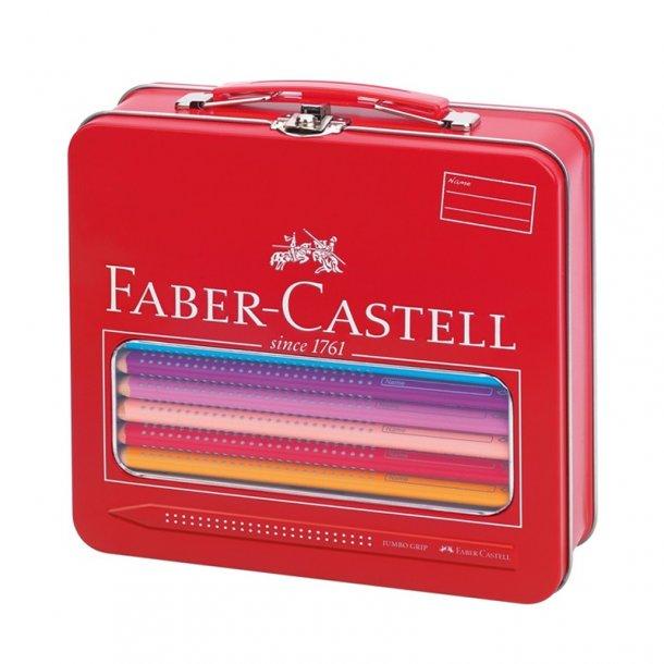 faber castell ske med jumbo grip farveblyanter og. Black Bedroom Furniture Sets. Home Design Ideas