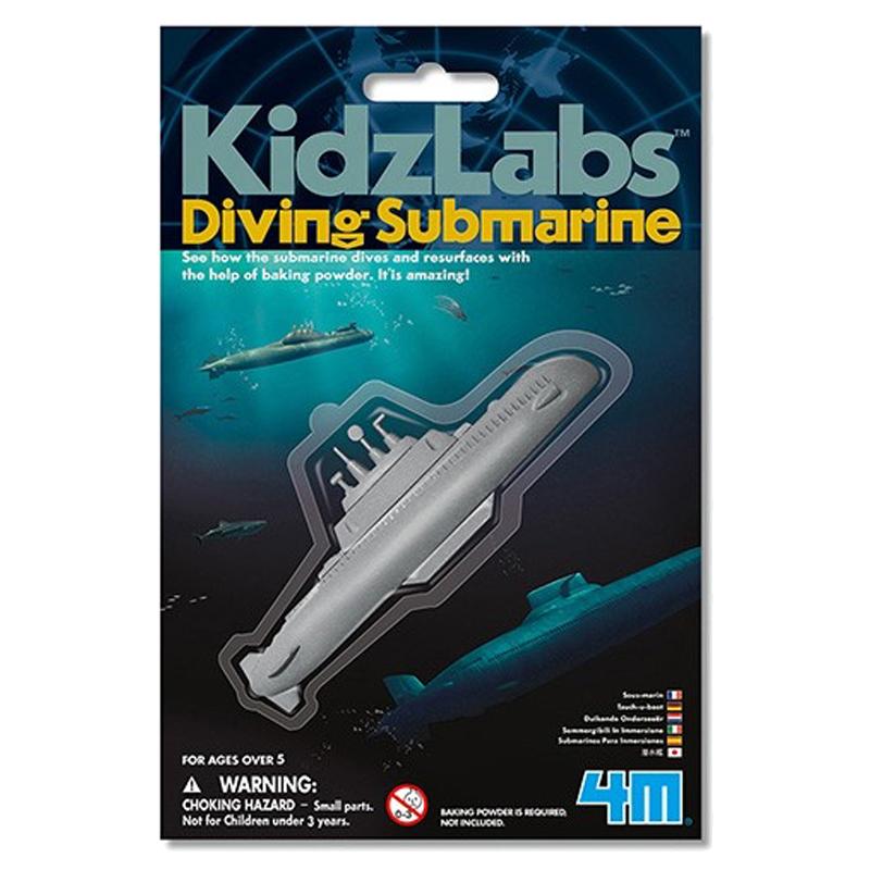 Image of   4M KidzLabs eksperiment legetøj, ubåd