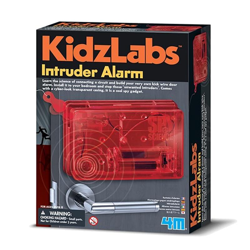 Image of   4M KidzLabs eksperiment legetøj, indbrudsalarm