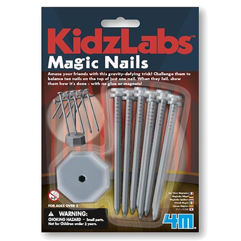 Image of   4M KidzLabs eksperiment legetøj, magiske søm