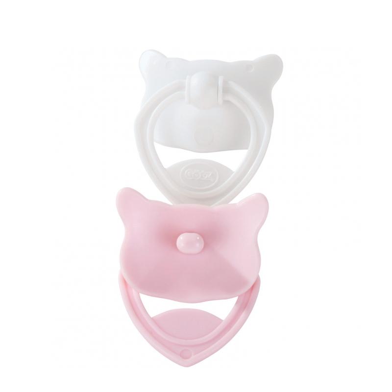 Image of   Götz 2-pak dukkesutter, lyserød og hvid