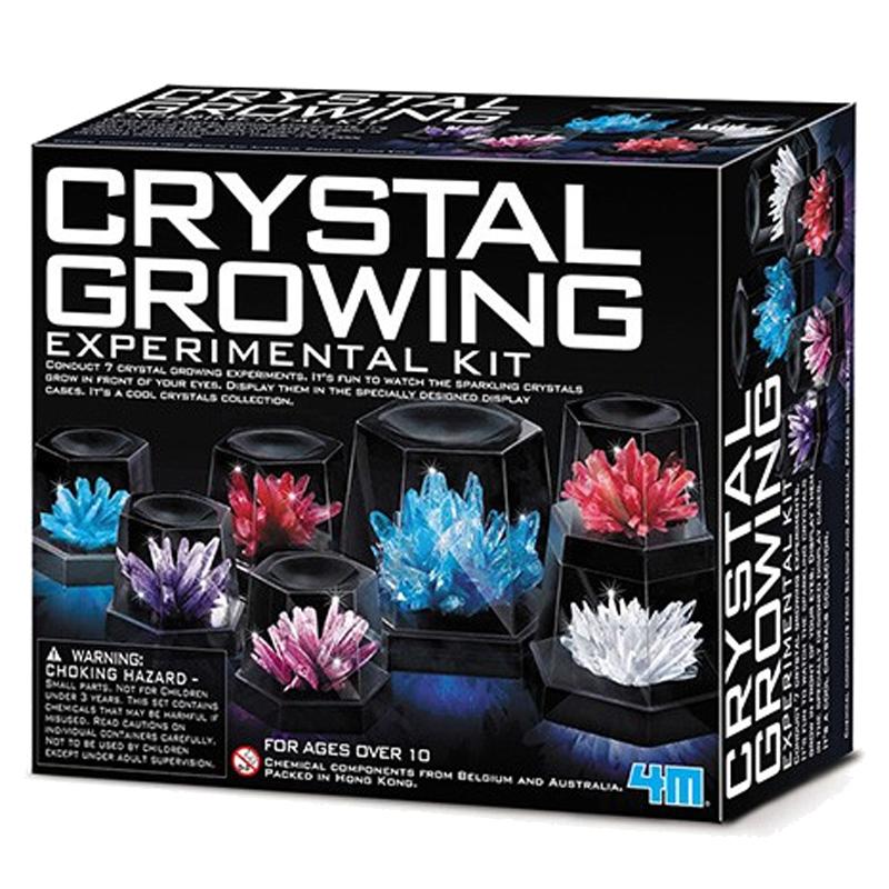 Image of   4M KidzLabs eksperiment legetøj, krystaller - stor