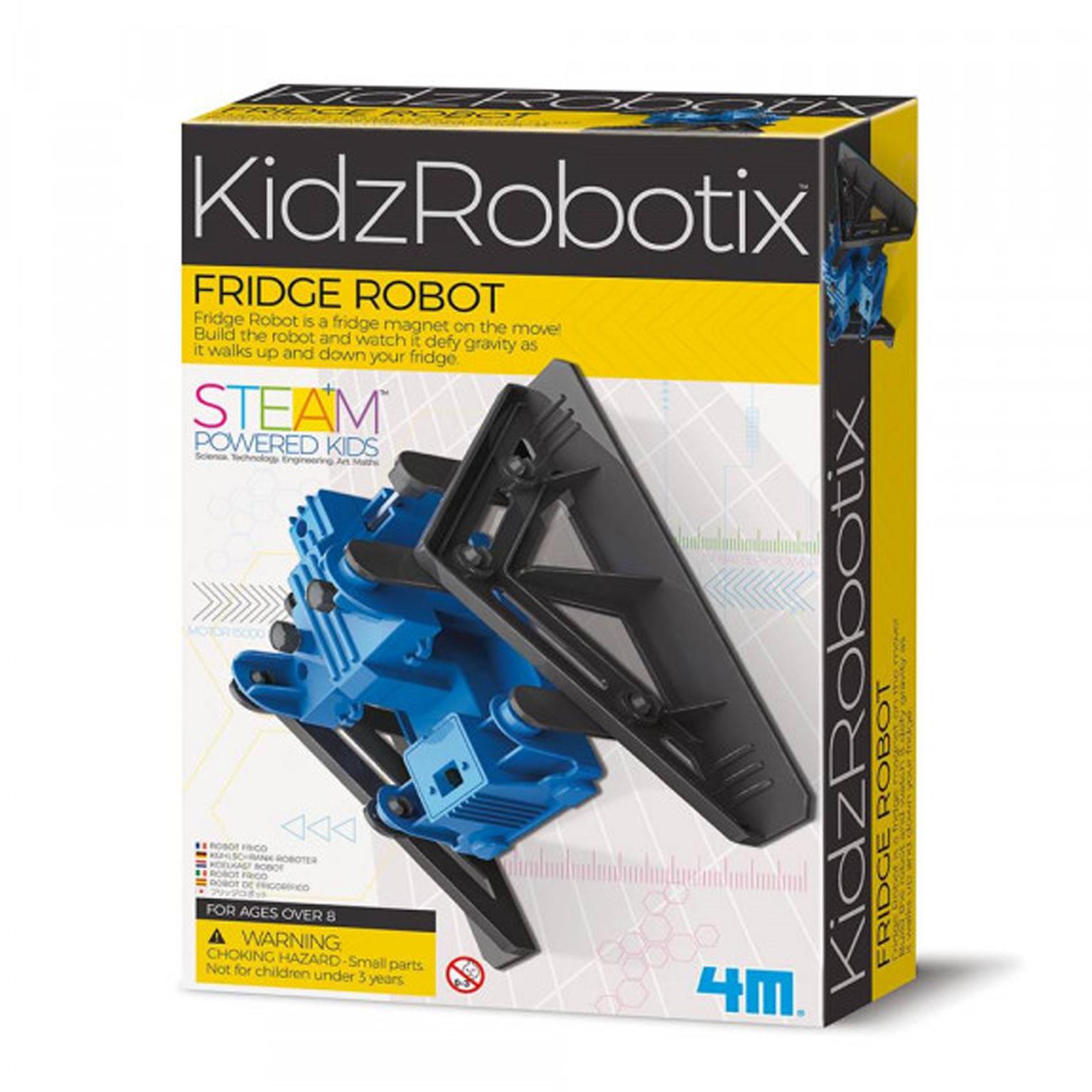 Image of   4M KidzLabs eksperiment legetøj, køleskabs robot