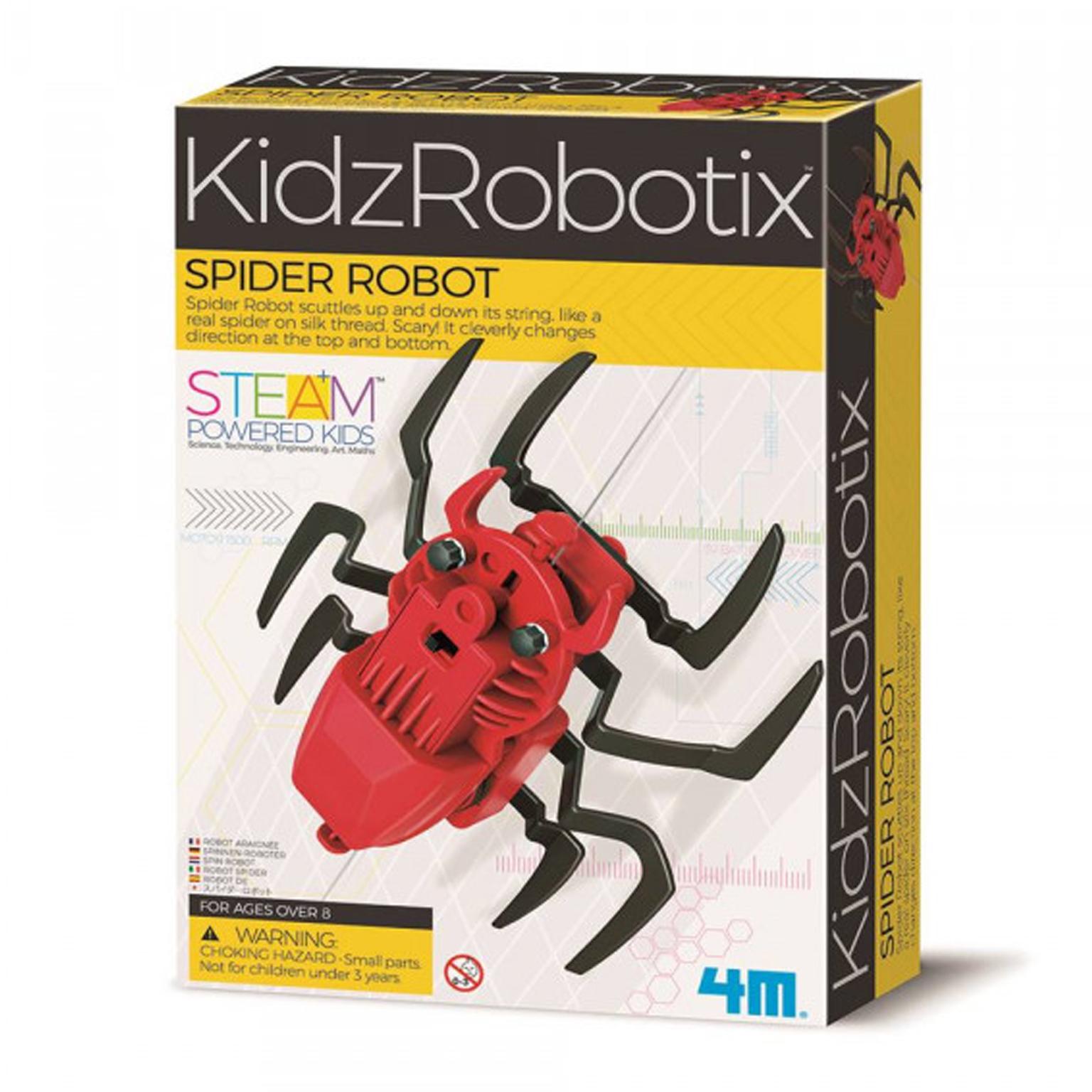 Image of   4M KidzLabs eksperiment legetøj, edderkop robot