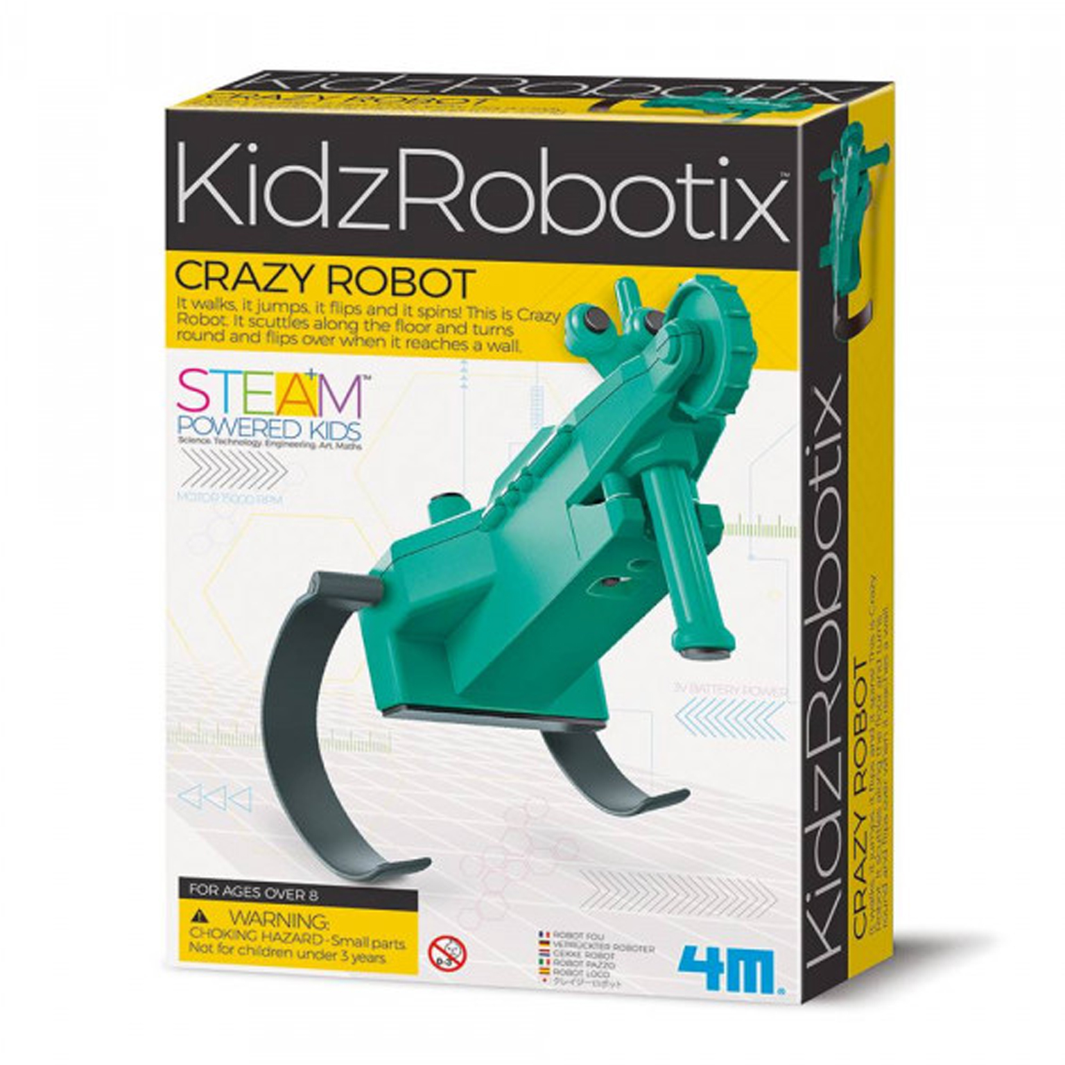 Image of   4M KidzLabs eksperiment legetøj, crazy robot
