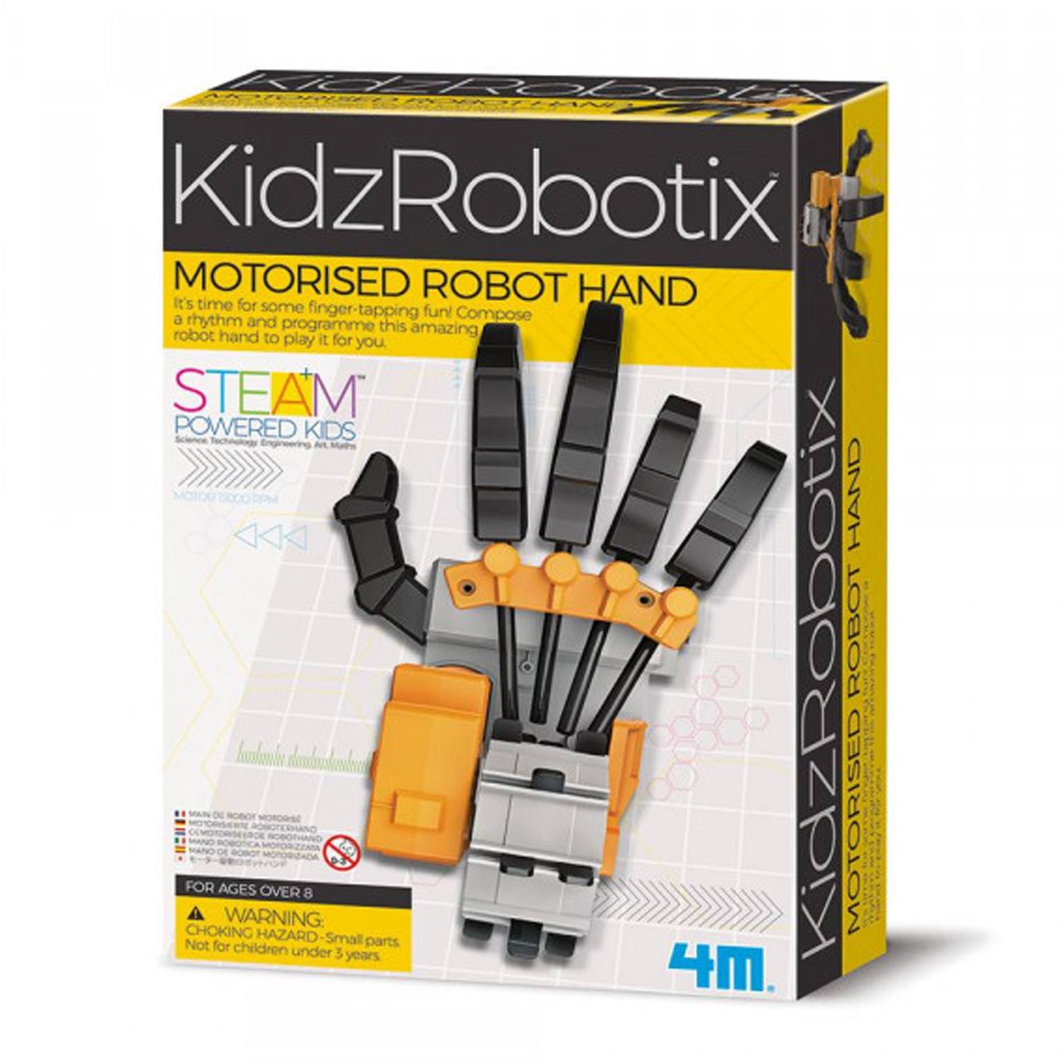 Image of   4M KidzLabs eksperiment legetøj, robot trommehånd