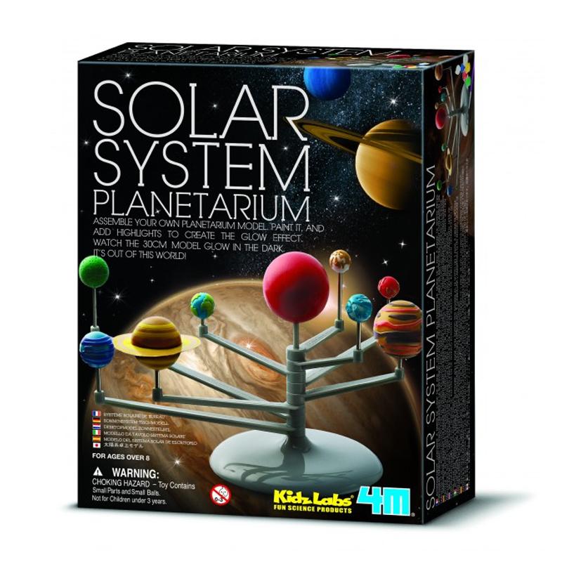 Image of   4M KidzLabs eksperiment legetøj, Solsystem