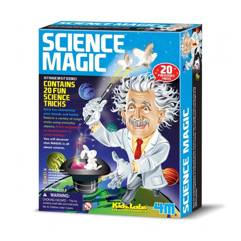 Image of   4M KidzLabs eksperiment legetøj, videnskabelig magi