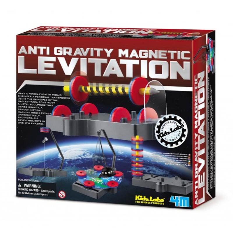 Image of   4M KidzLabs eksperiment legetøj, magnetiske eksperimenter