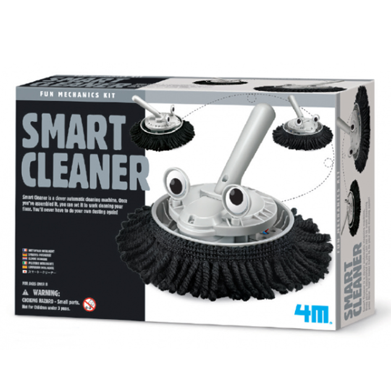 Image of   4M Kidzlabs eksperiment legetøj, smart cleaner