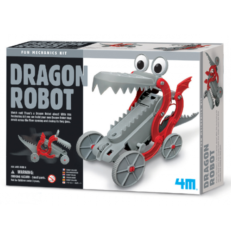 Image of   4M Kidzlabs eksperiment legetøj, robot drage