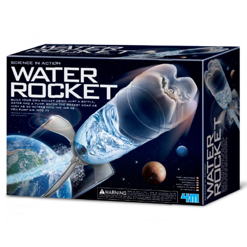 Image of   4M Kidzlabs eksperiment legetøj, vand raket