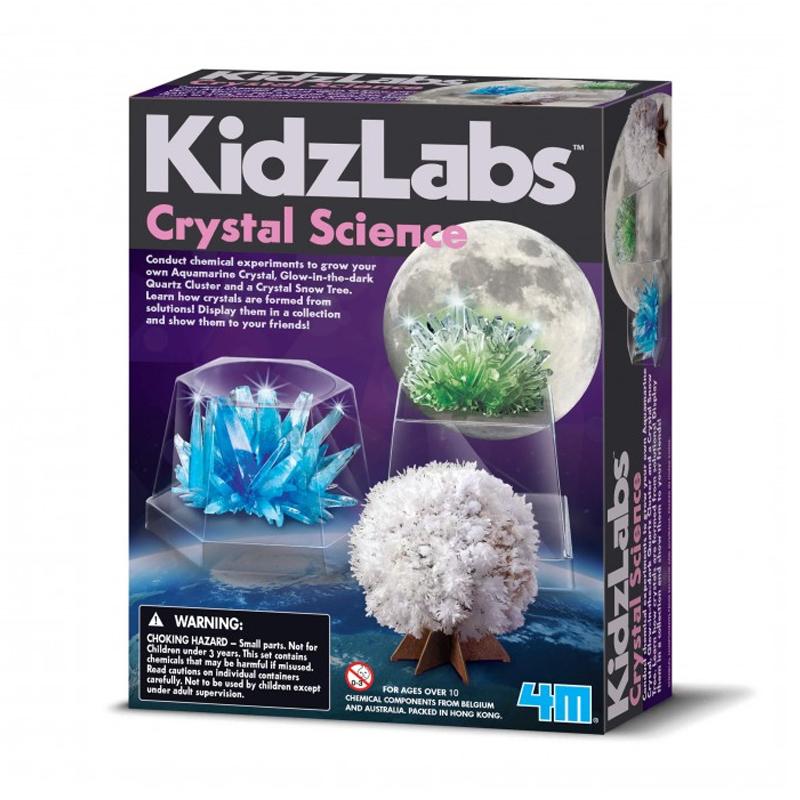 Image of   4M KidzLabs eksperiment legetøj, Krystal videnskab