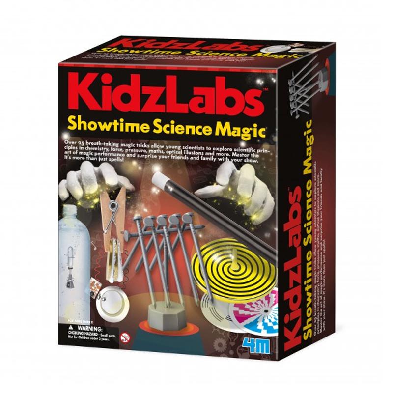 Image of   4M KidzLabs eksperiment legetøj, showtime videnskabelig magi