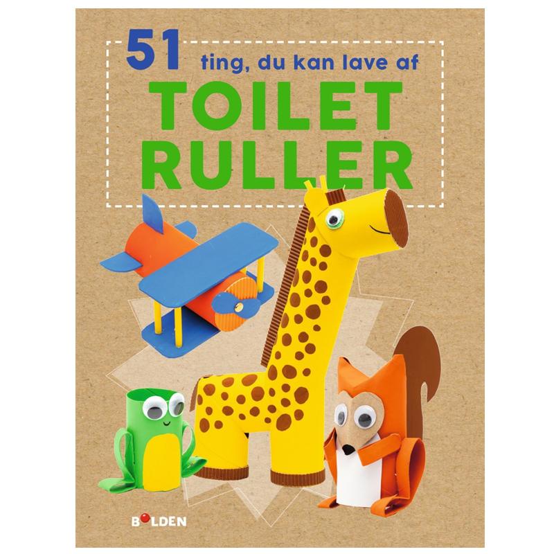 Image of   51 ting du kan lave med toiletruller