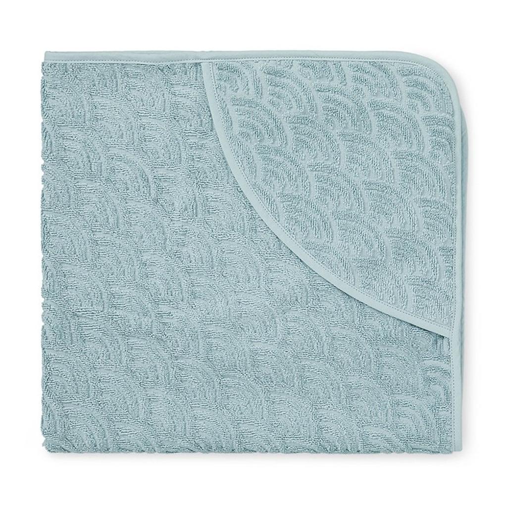 Cam Cam babyhåndklæde med hætte, petroleum