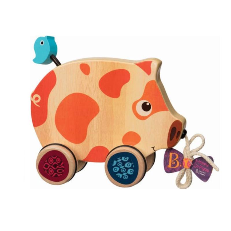 Image of B Toys Happy Go Piggy trækdyr