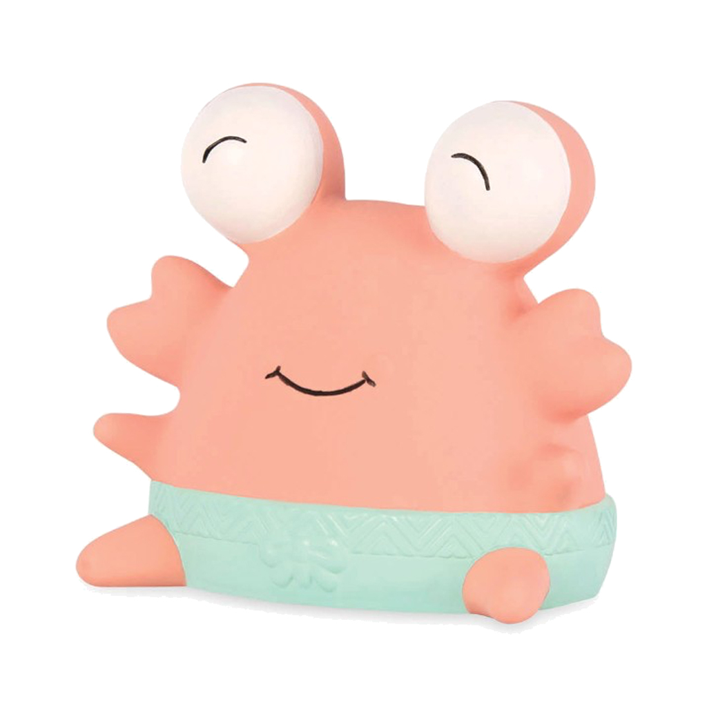 Image of B Toys bidedyr i naturgummi, Clipper Krabbe