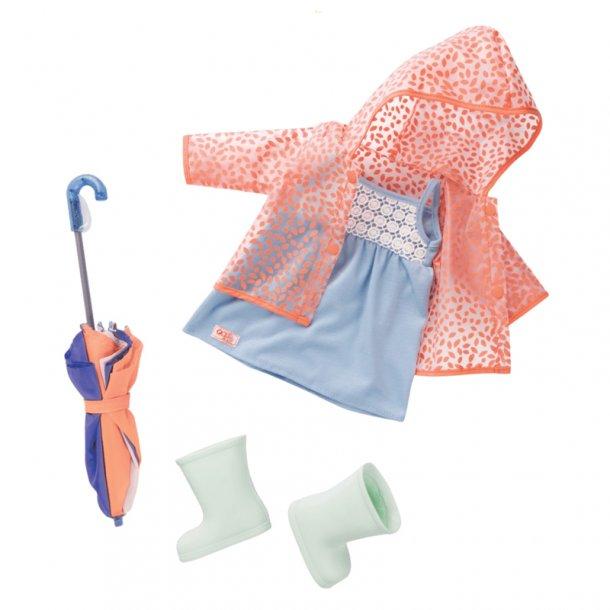 Our Generation dukketøj, regnjakke