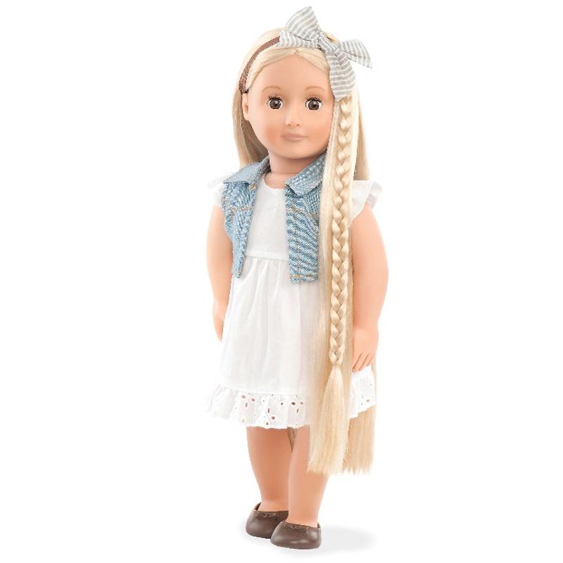 Image of   Our generation dukke med hår der kan vokse, Phoebe