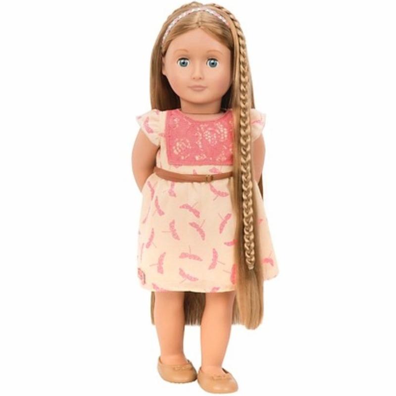 Image of   Our Generation dukke Portia med hår der kan vokse, 46 cm