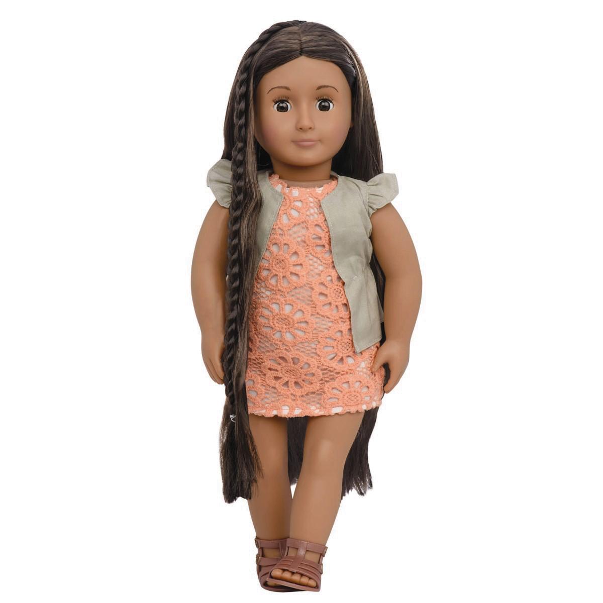 Image of   Our Generation dukke med hår der vokser, Flora