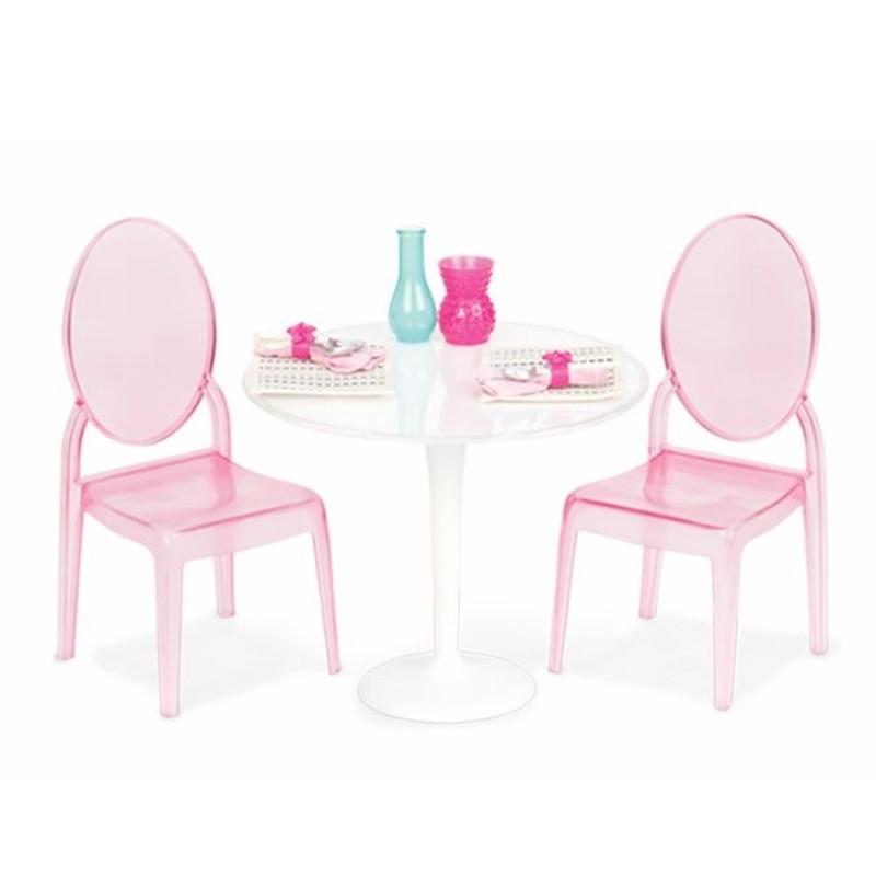 Image of   Our Generation dukkemøbler, bord og 2 stole