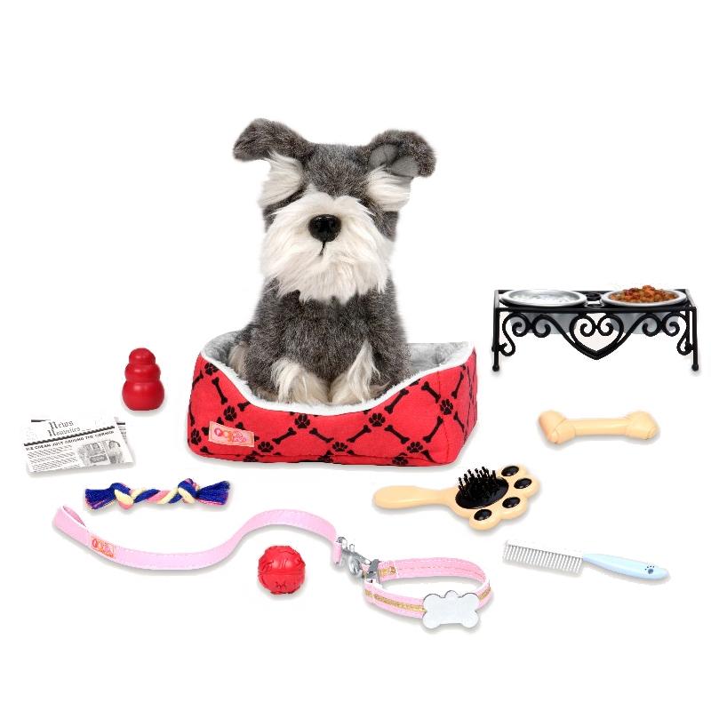 Billede af Our Generation dukketilbehør, hundetilbehør