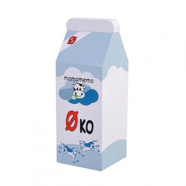 MaMaMeMo legemad i træ, øko minimælk