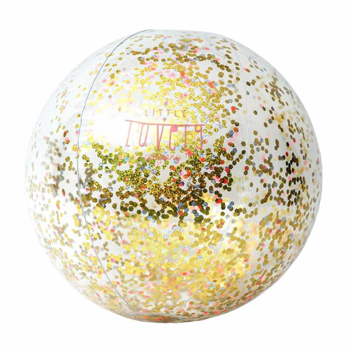 Image of A Little Lovely Company badebold med glitter