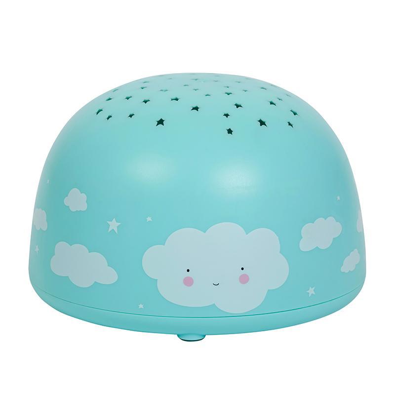 Billede af A Little Lovely Company projektor/vågelampe, cloud