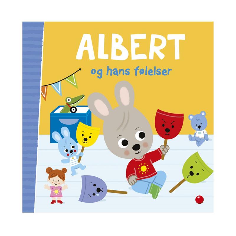 Image of   Albert og hans følelser