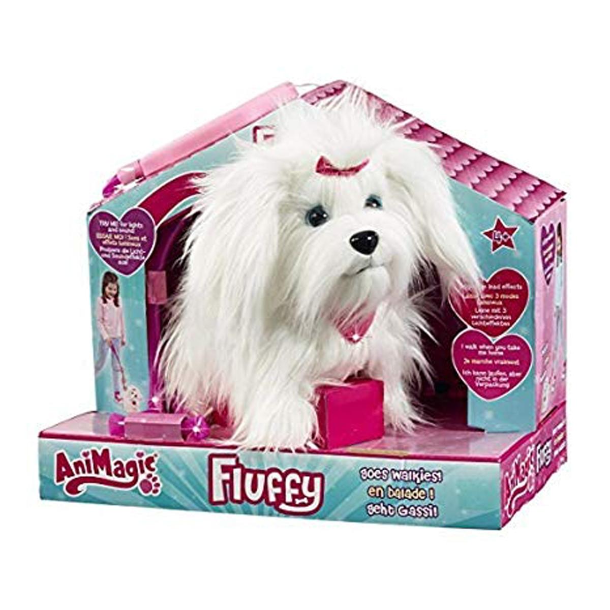 Image of   Animagic gående hundehvalp, Fluffy