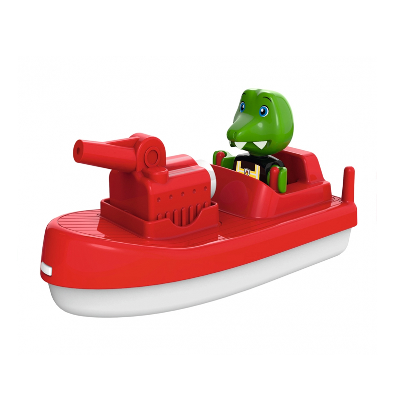 Image of Aquaplay tilbehør til vandbane, brandmands båd