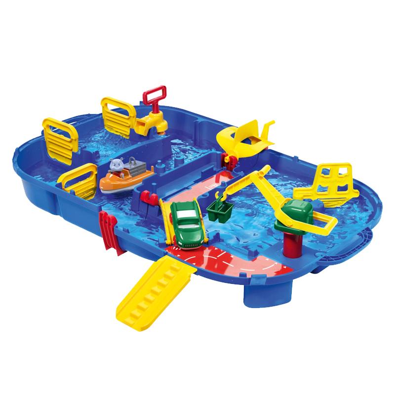 Image of Aquaplay vandbane, foldbar