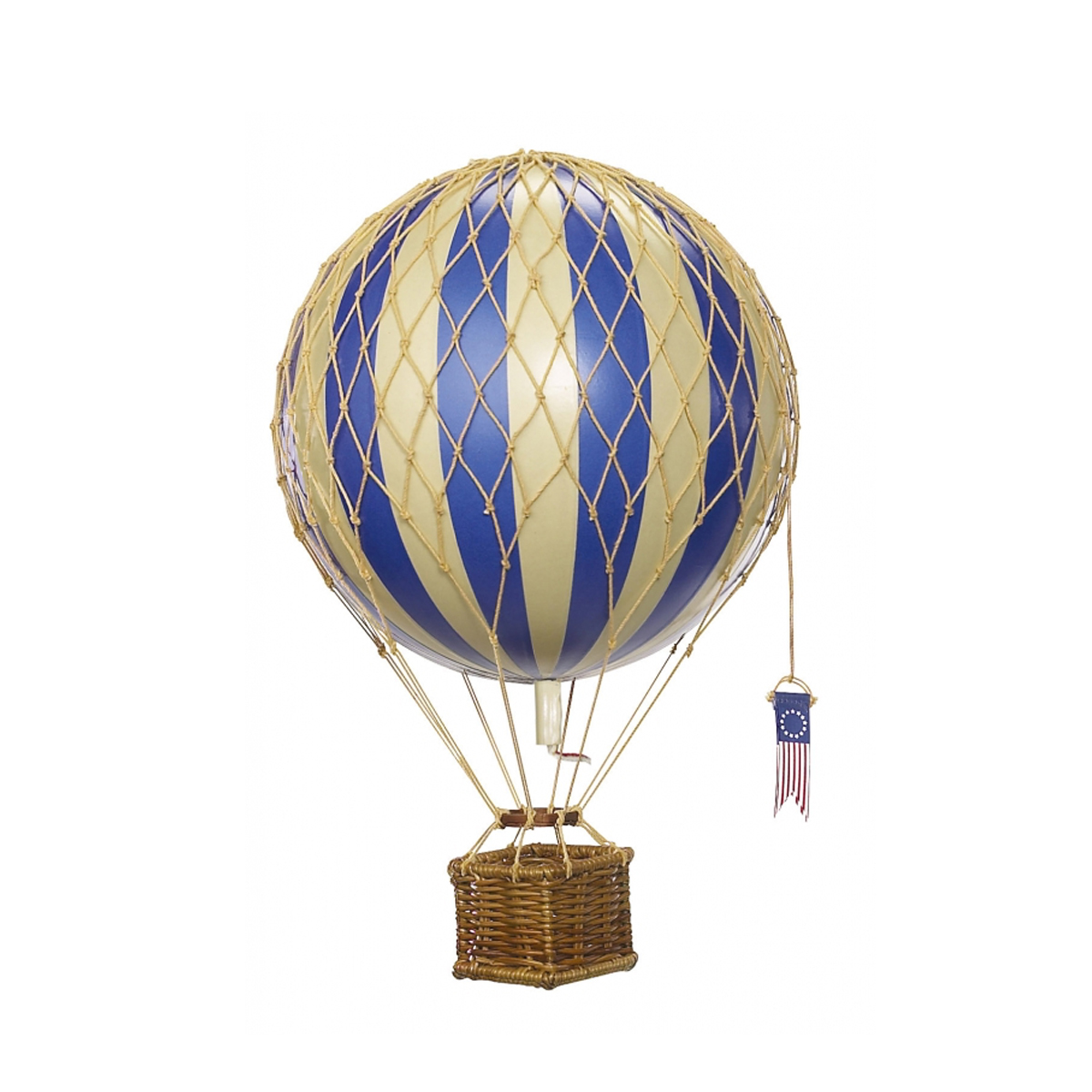 Image of Authentic Models luftballon 18 cm - blå