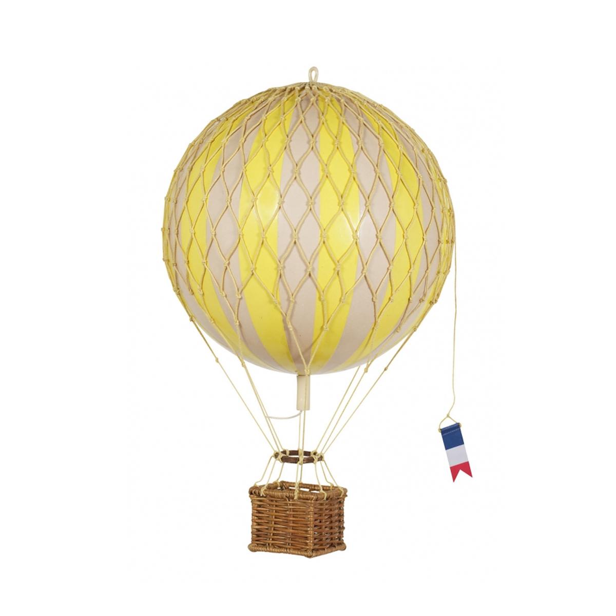 Image of Authentic Models luftballon 18 cm - gul