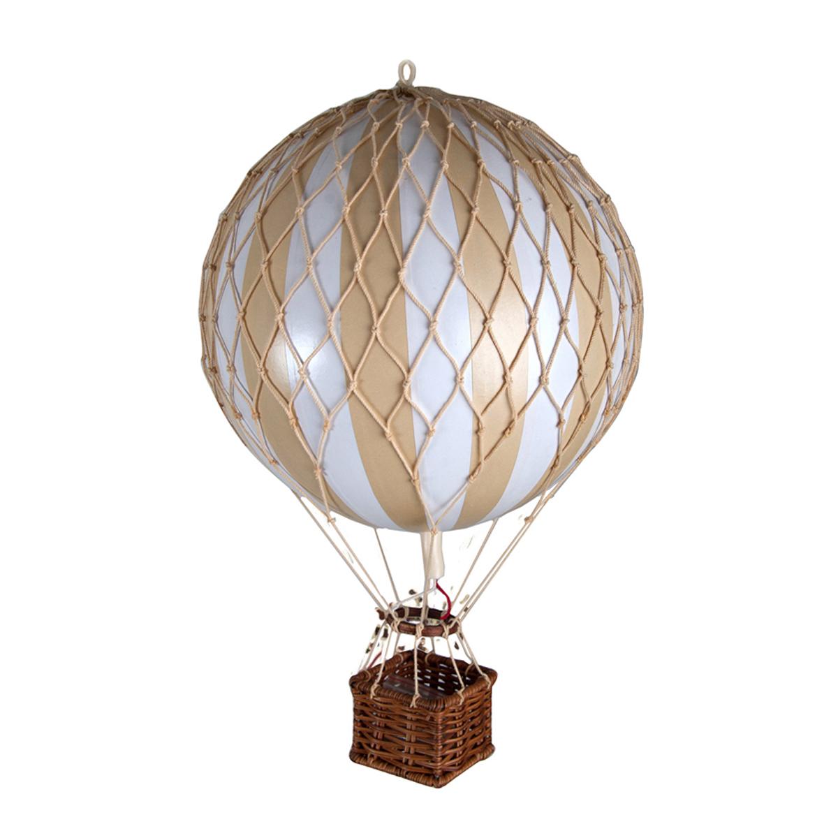 Image of Authentic Models luftballon 18 cm - hvid og ivory